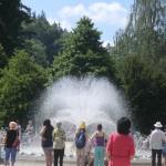 Singender Springbrunnen